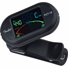 Fct12 Color Clipon Tuner Black