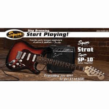 Se Special With Squier Sp10 Amp Brown Sunburst 120V
