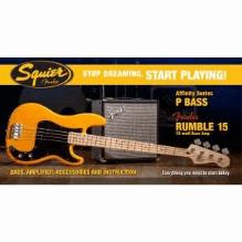 Stop Dreaming Start Playing! Set Affinity Series Precision Bass  Butterscotch Blonde