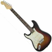 American Elite Stratocaster Left-Hand, Ebony Fingerboard, 3-Color Sunburst