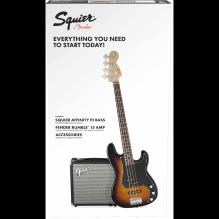 Precision Bass PJ Pack, Brown Sunburst, 120V