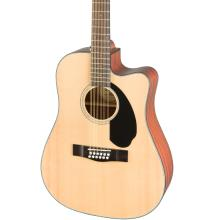 CD-60SCE Dreadnought 12-string Walnut Fingerboard Natural