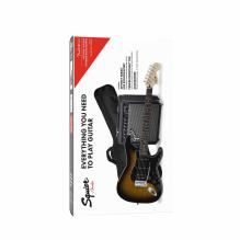 Affinity Series Stratocaster HSS Pack Laurel Fingerboard Brown Sunburst Gig Bag 15G - 120V