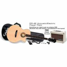 PR-4E Acoustic Electric Player Pack - US 120V
