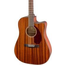 CD-140SCE Dreadnought, Walnut Fingerboard, All-Mahogany w/Case
