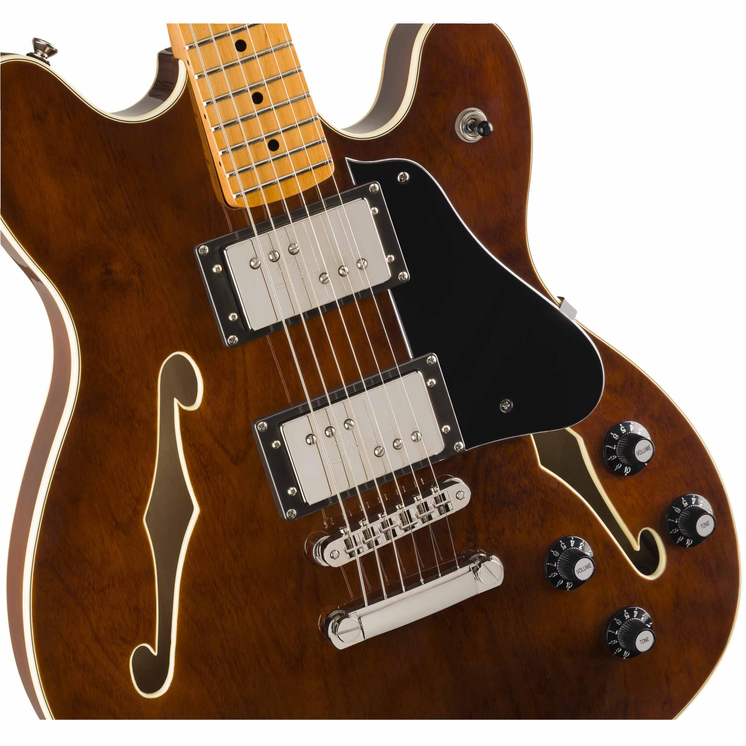 Guitarra Eléctrica Squier Classic Vibe Starcaster, Maple Fingerboard,  Walnut 0374590592
