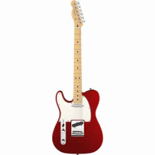 American Standard Telecaster Lefthanded Maple Fingerboard Mystic Red