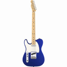 American Standard Telecaster Lefthanded Maple Fingerboard Mystic Blue