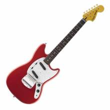 Vintage Modified Mustang Rosewood Fingerboard Fiesta Red