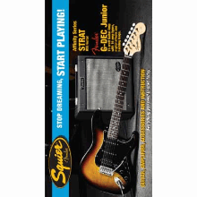 Stop Dreaming Start Playing Set Affinity Series Strat Hss With Gdec Junior Amp Brown Sunburst 120V