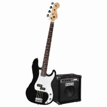 Stop Dreaming Start Playing Set Affinity P Bass With Rumble 15 Amp Black 120V