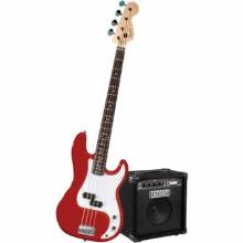 Stop Dreaming Start Playing Set Affinity P Bass With Rumble 15 Amp Metallic Red 120V