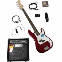 Stop Dreaming Start Playing Set Affinity P Bass With Rumble 15 Amp Metallic Blue 120V