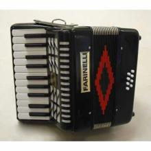 ACORDEON TECLAS JUNIOR NEGRO 22-8