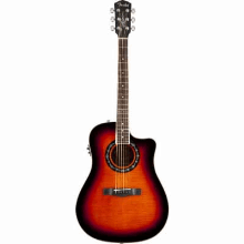 Tbucket 300Ce Rosewood Fingerboard 3Color Sunburst Flame Maple
