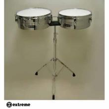 Timbales Tropicales 13 X 65 Y 14 X 65 Cromadas