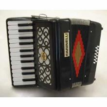 Acordeon Teclas Negro 2512 Hill 4 Voces