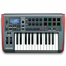 Teclado Controlador Novation Impulse 25 Mod Novimp25
