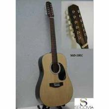 Guitarra Texana Eacustica Natural 12 Cdas Metal