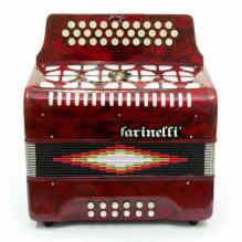 Acordeon Diatonico Fa Rojo 3012Far