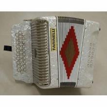 Acordeon Diatonico Sol Blanco 3012W