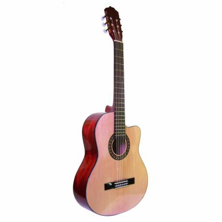 Guitarra la sevillana clasica n 6c color natural 3 511 for Guitarras la clasica