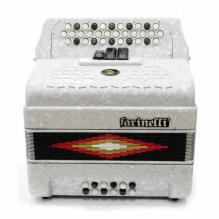Acordeon Diatonico Fa Blanco 34K12Bs 3 Regs