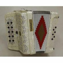 Acordeon Diatonico Sol Blanco 34K12Bs 3 Regs